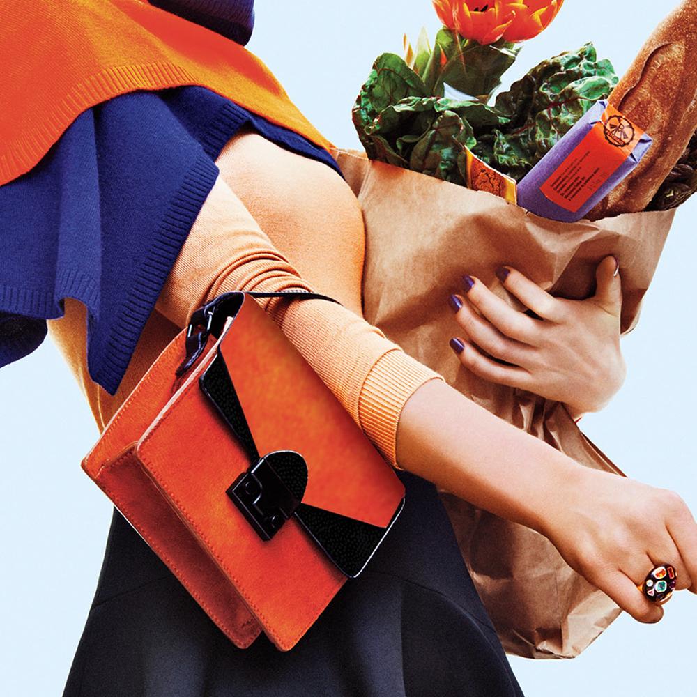 woman shopping bag