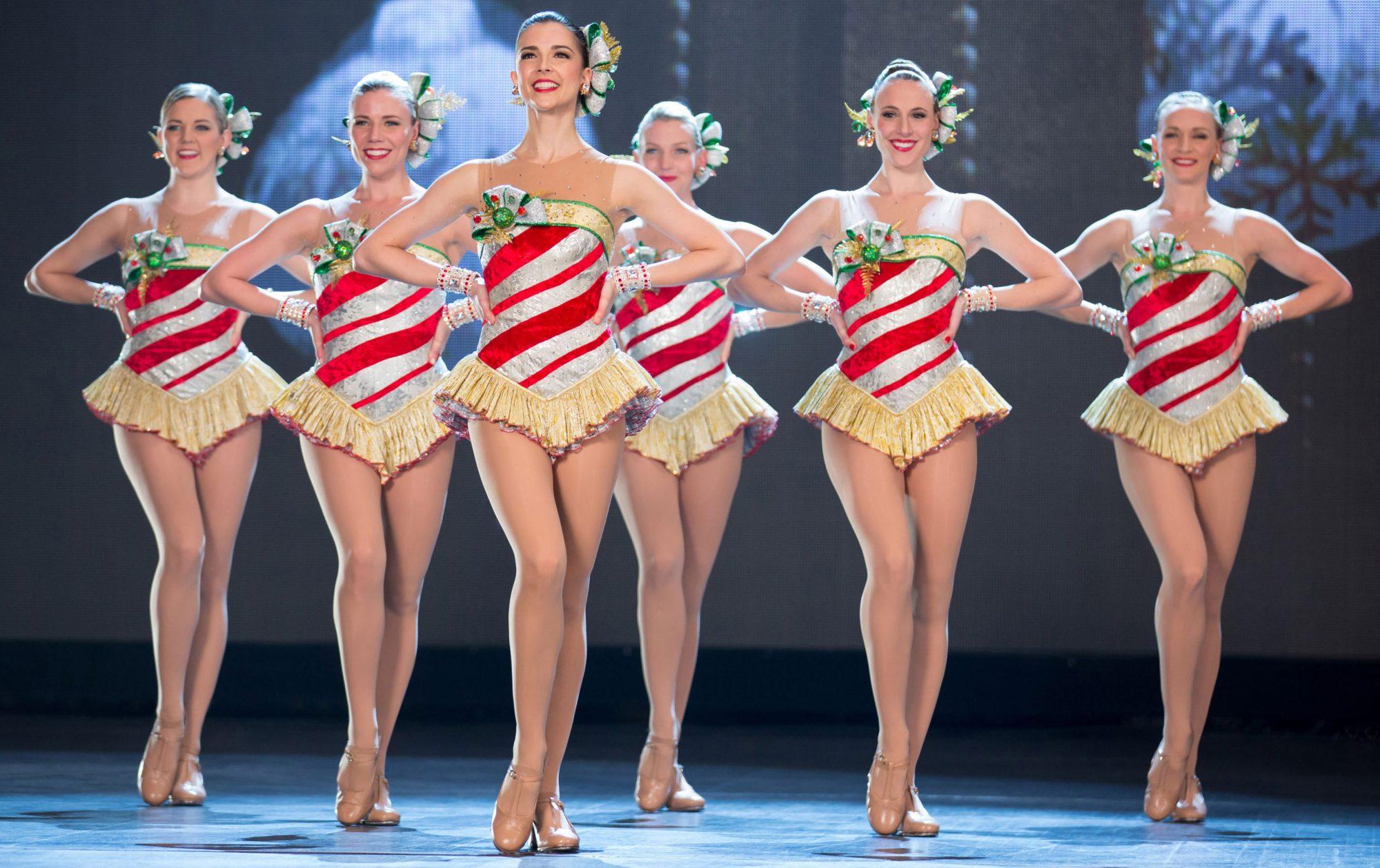 Rockettes on Stage