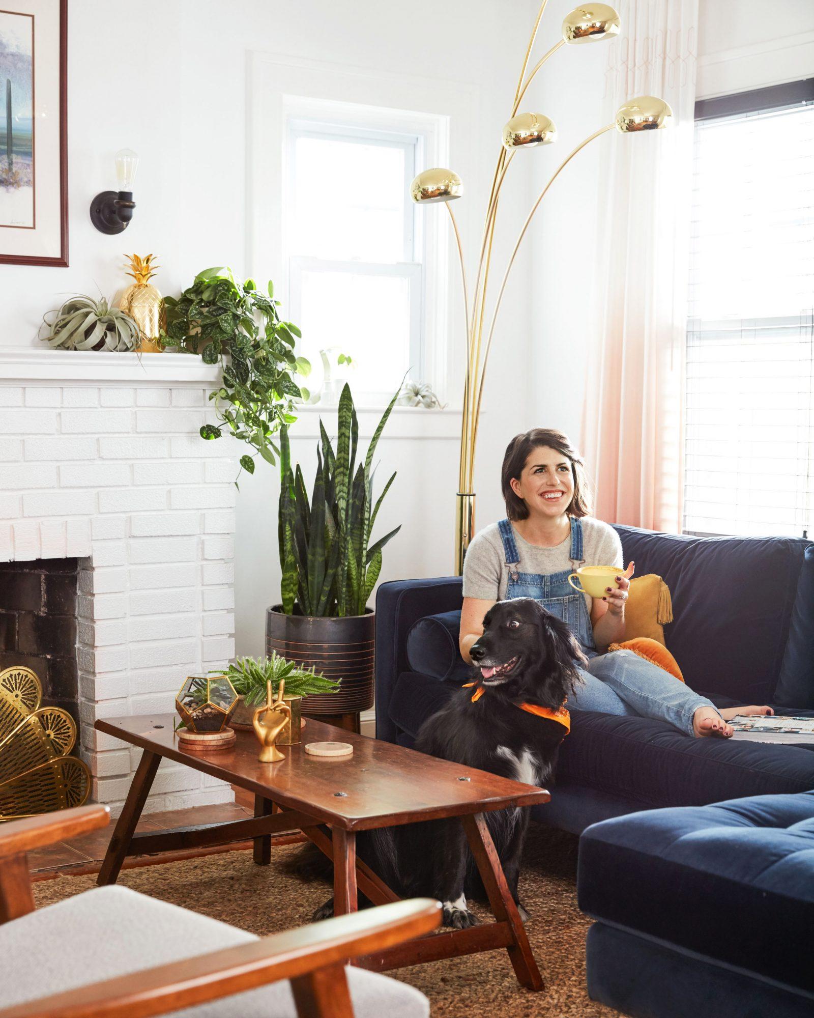 jessica brigham living room dog
