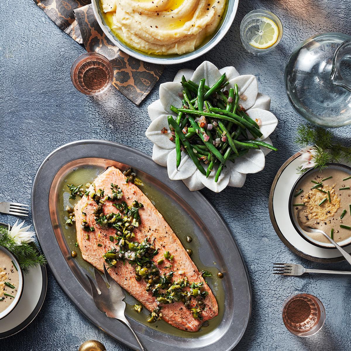 2 hour salmon tastic supper