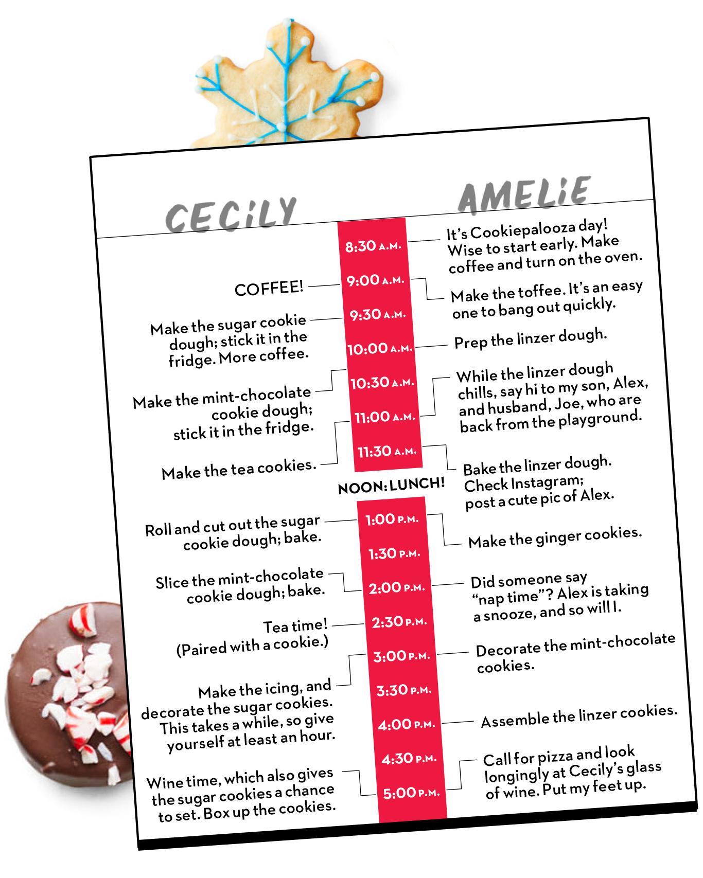 Cookiepalooza schedule