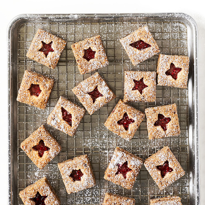 No-Roll Linzer Cookies