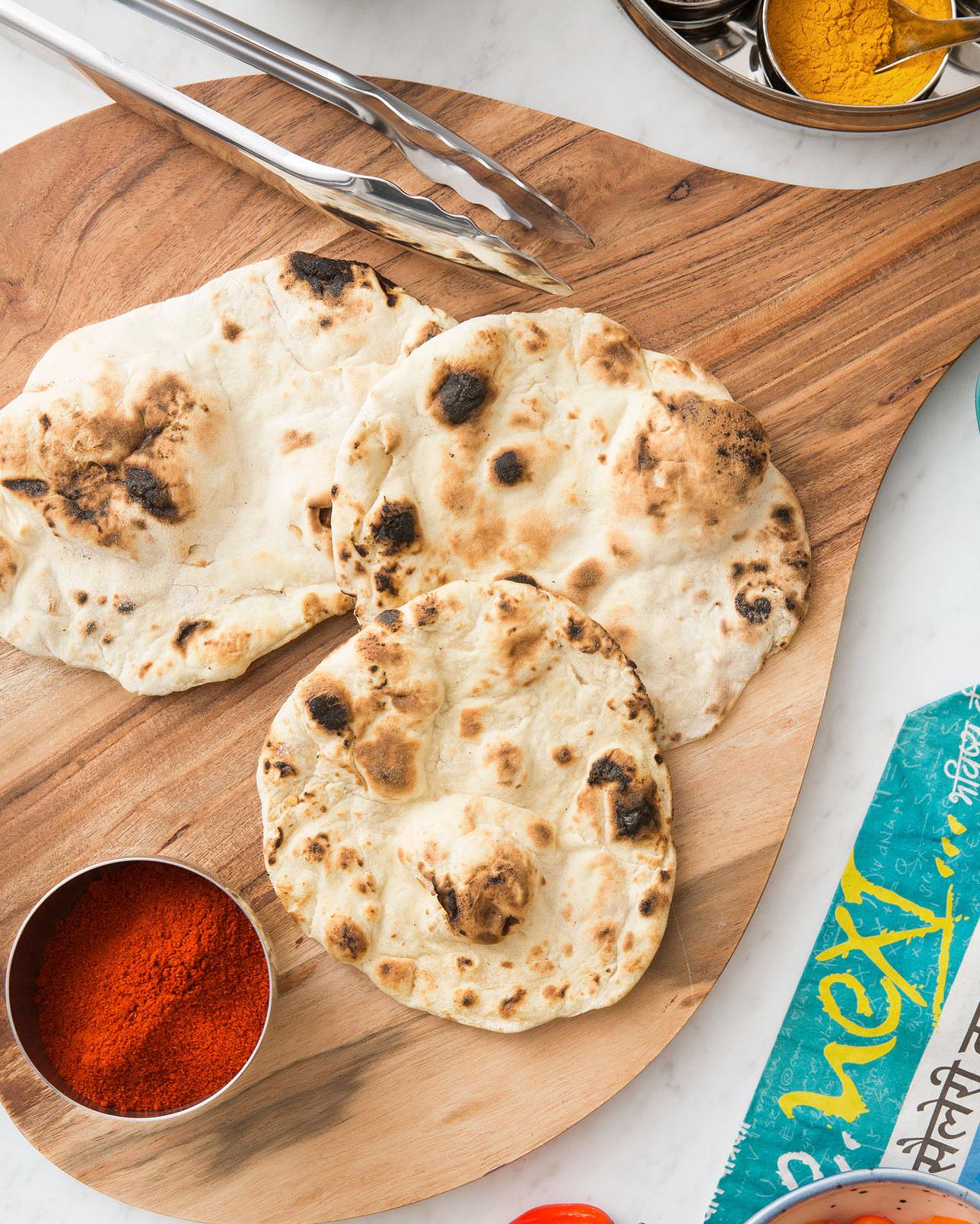 Maneet Chauhan's Homemade Naan