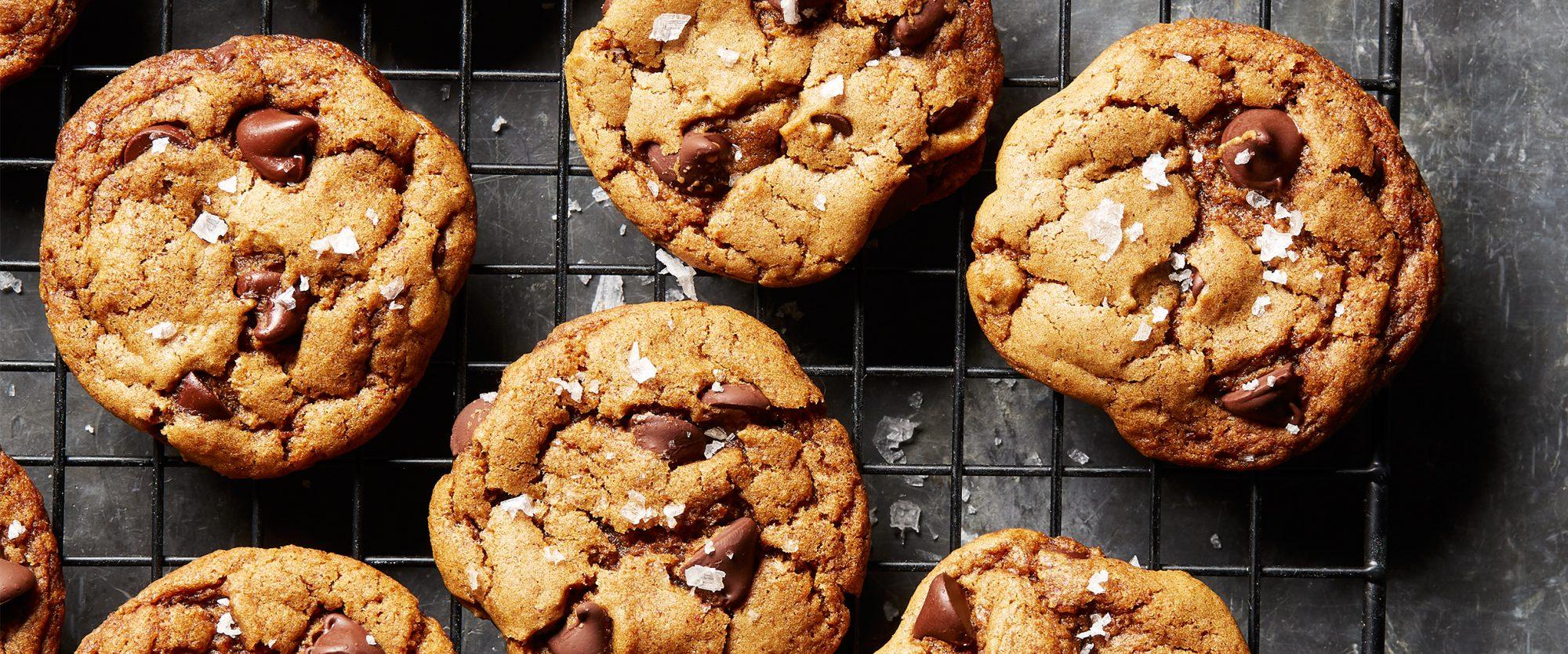 vegan chocolate chip ancho chile cookies hero