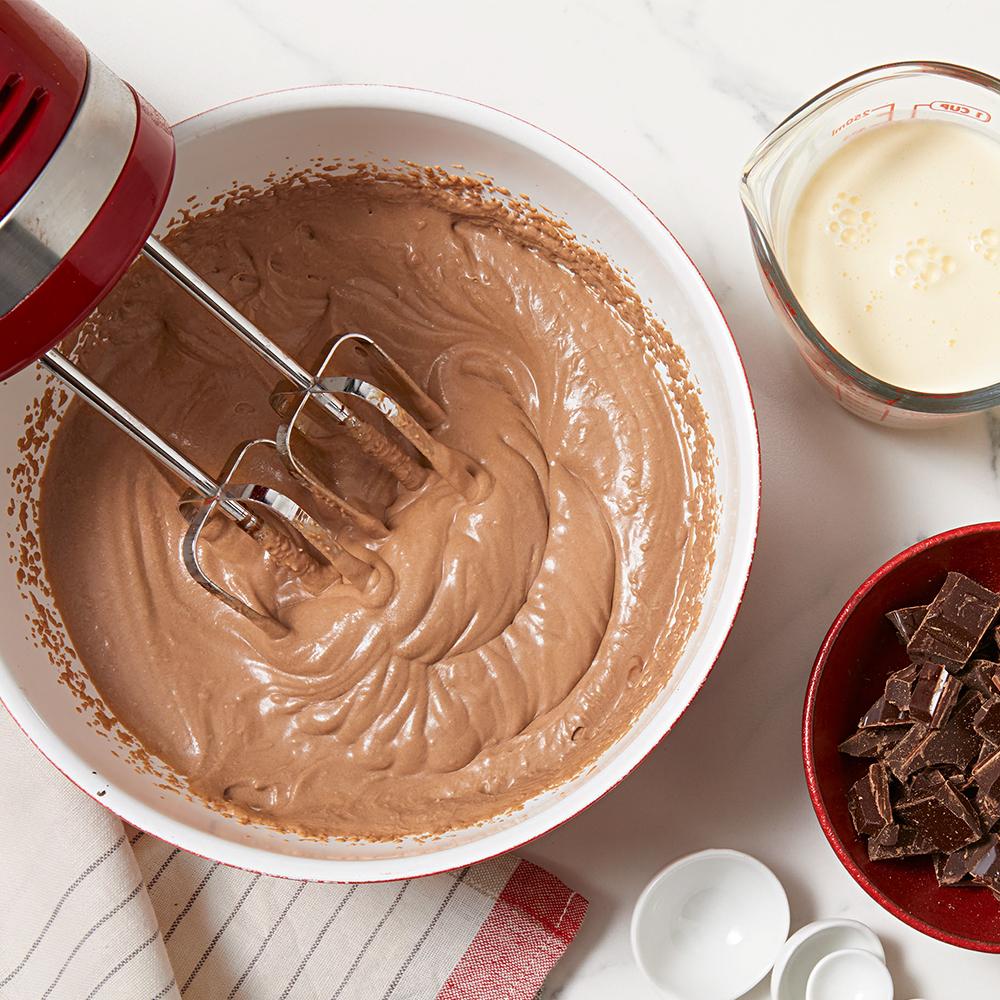chocolaty whipped cream