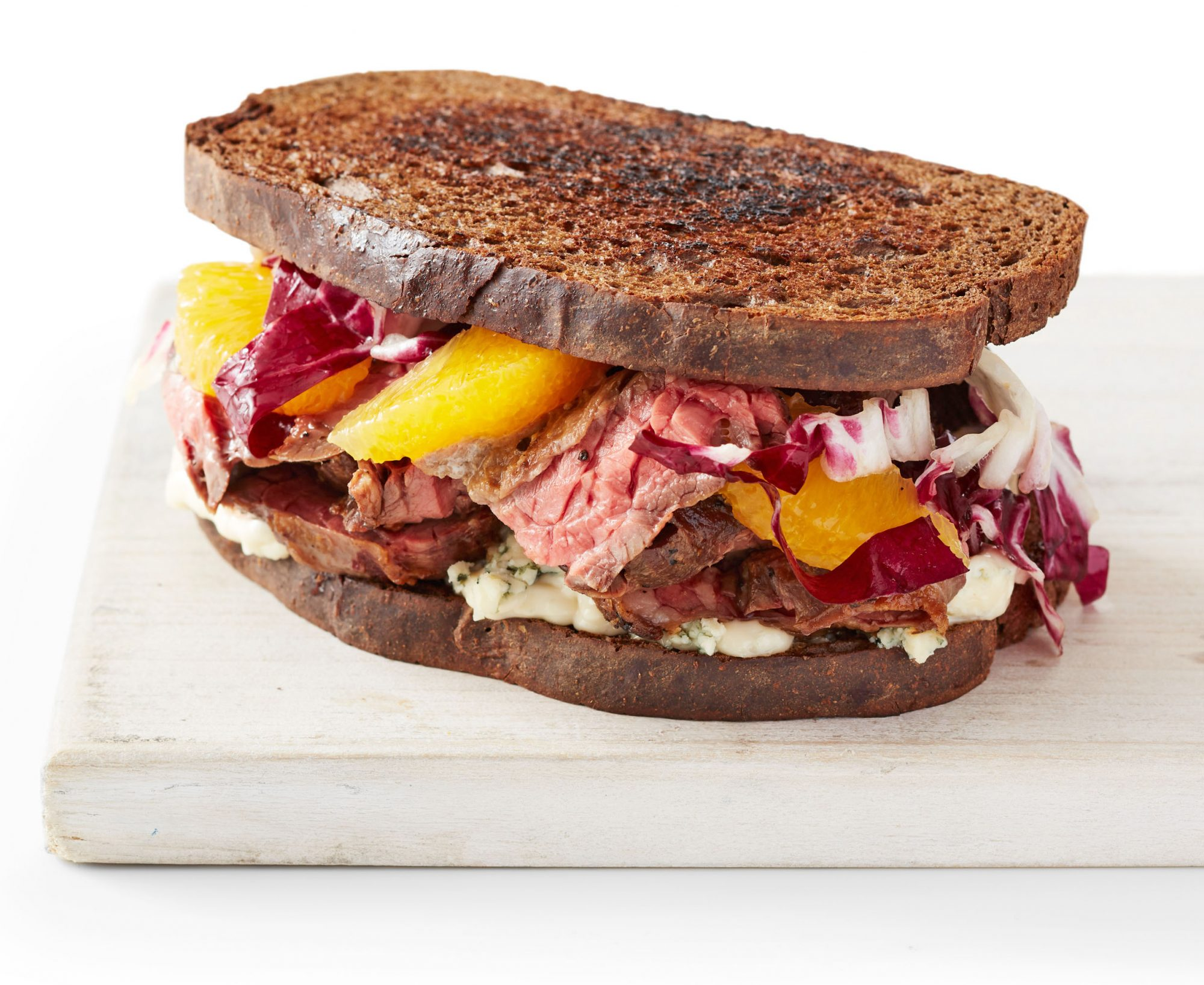 steak radicchio sandwiches