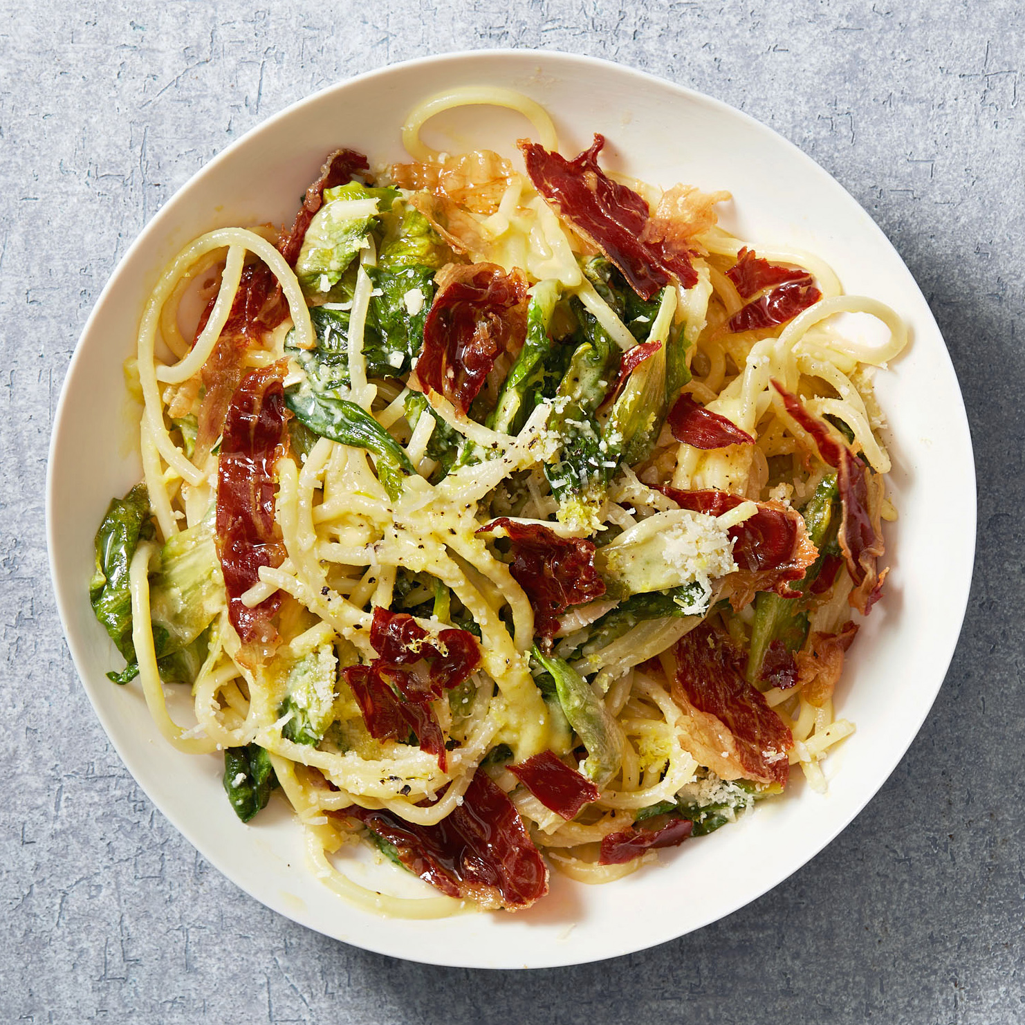 pasta with green eggs and ham
