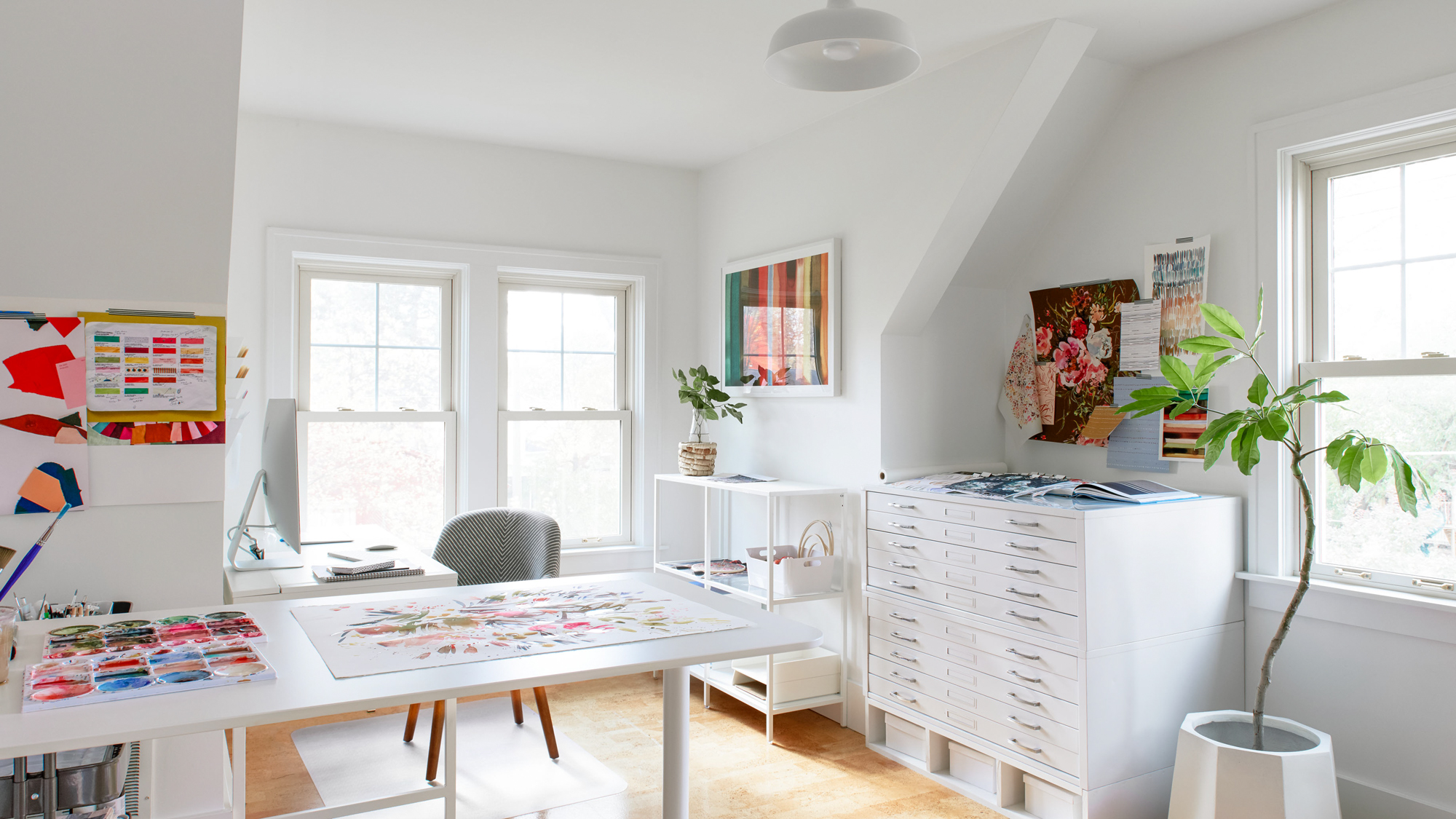home office painting