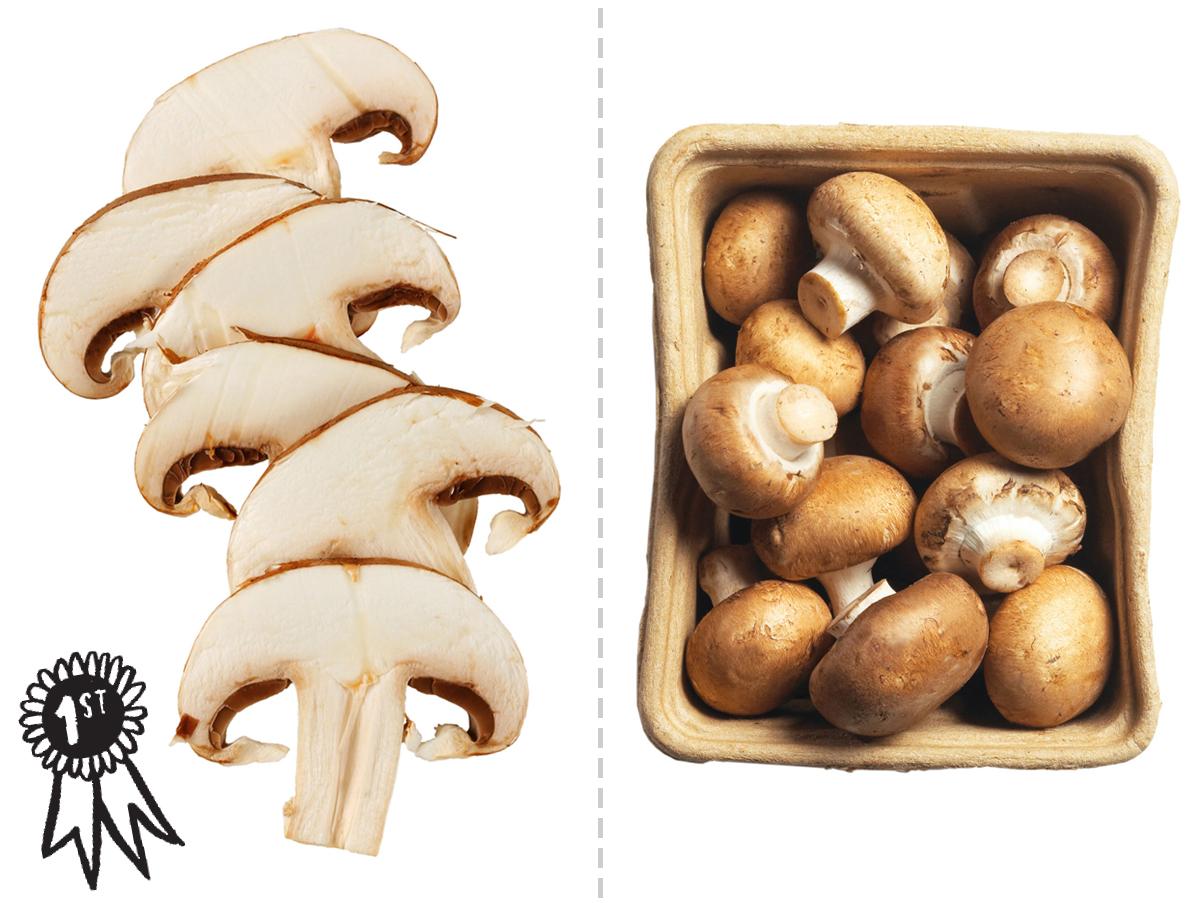 sliced versus whole mushrooms