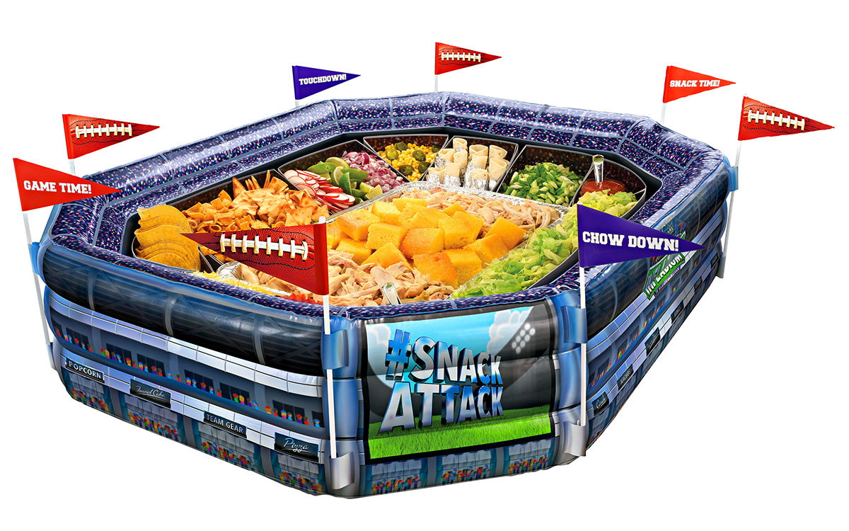 inflatable stadium
