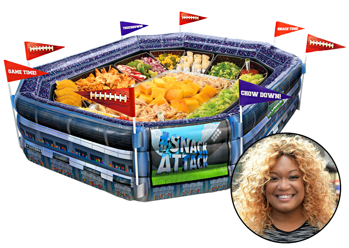 sunny anderson inflatable stadium