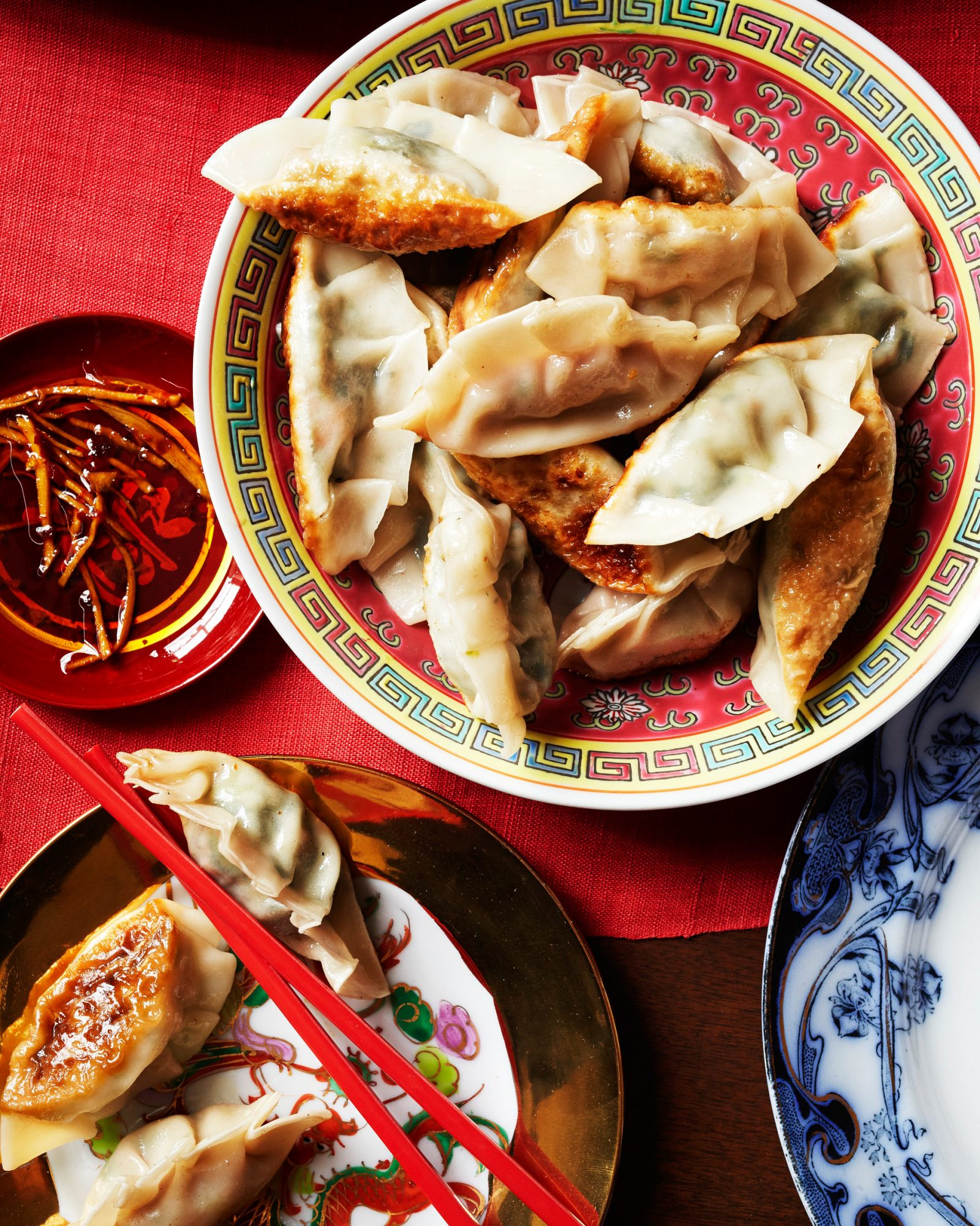 Chinese Dumpling with Chicken & Napa Cabbage Filling