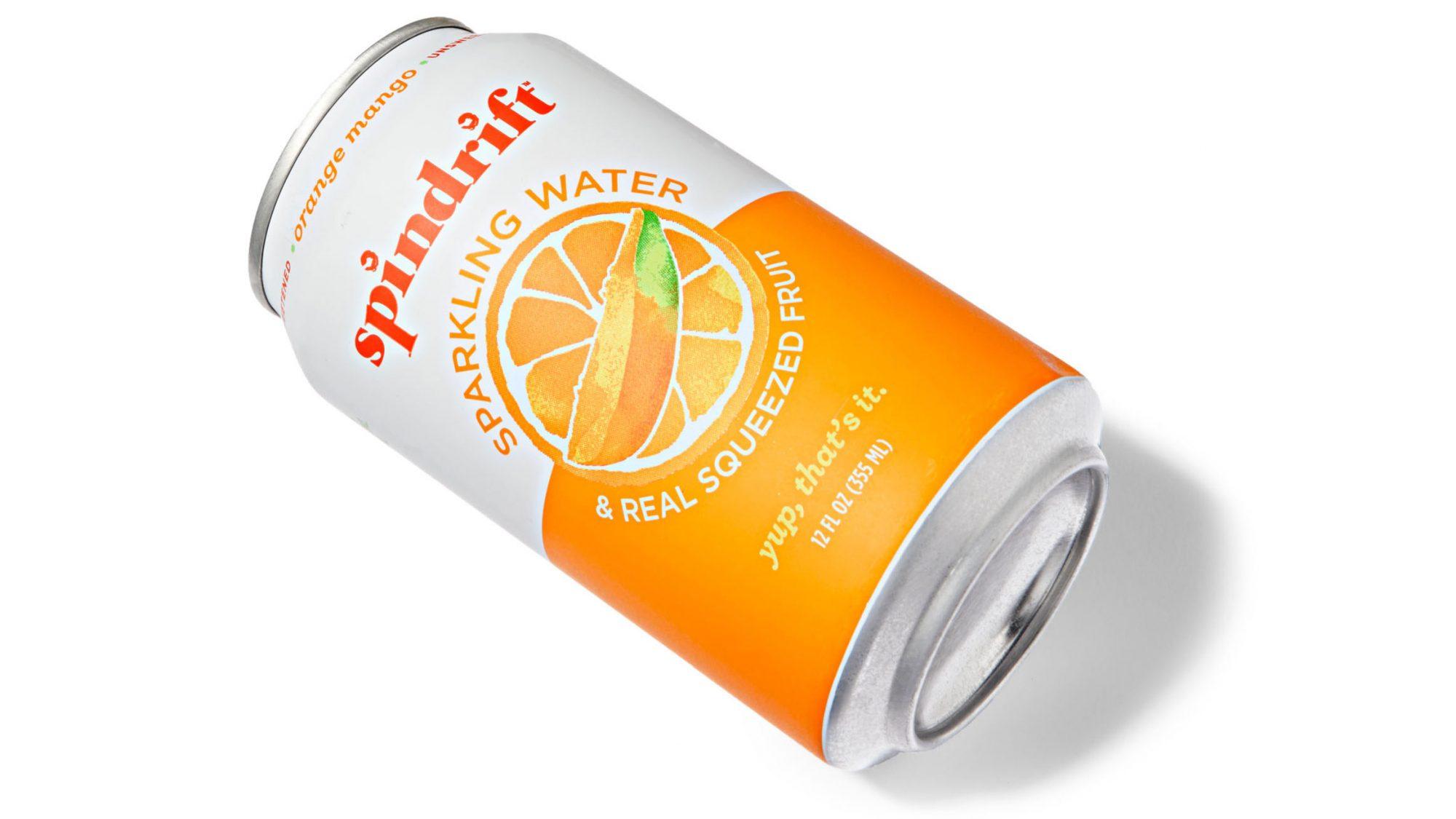 Spindrift Sparkling Water in Orange-Mango