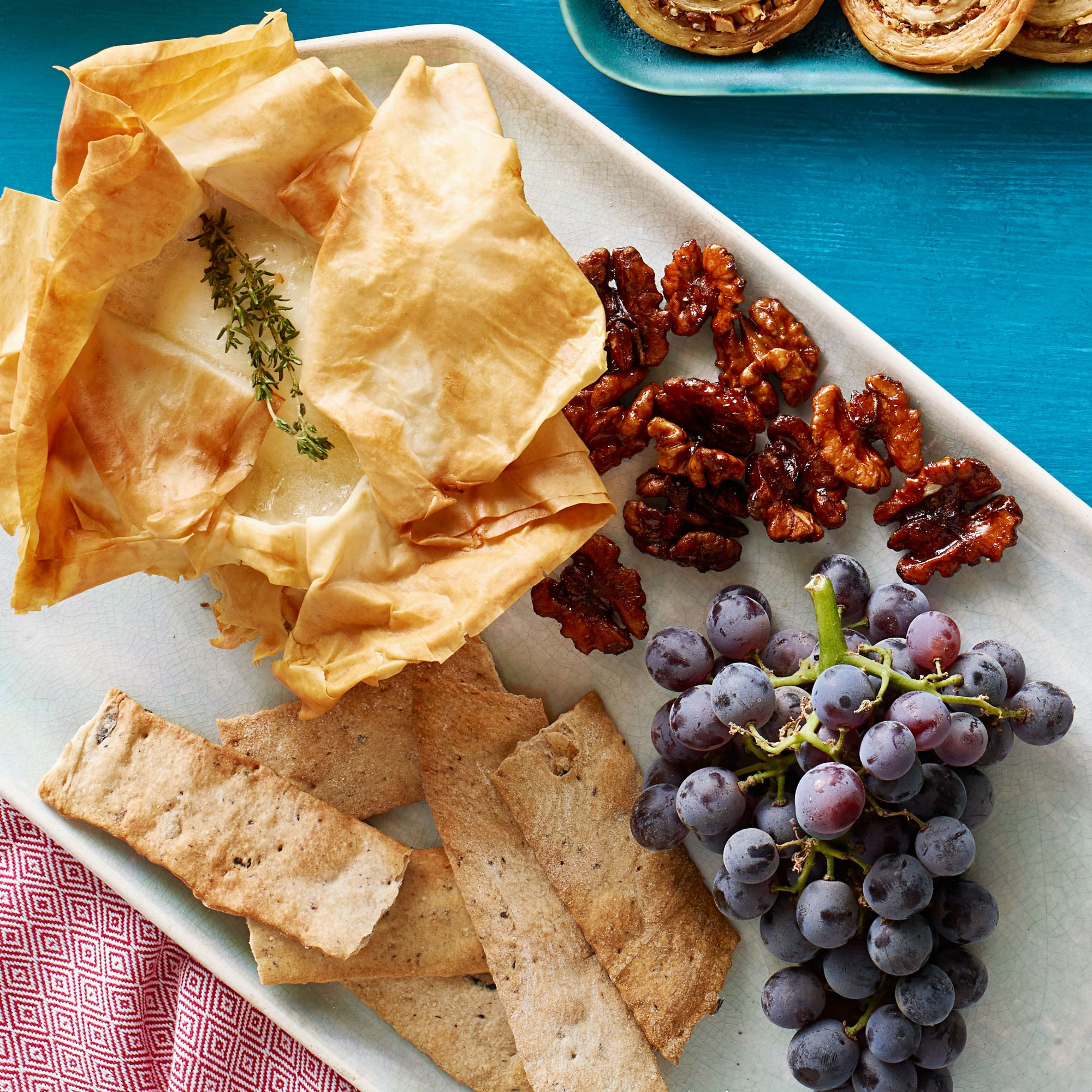Baked Cheese Plate