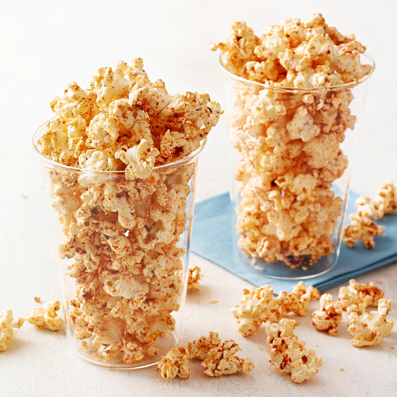 Chili-Cheese Popcorn
