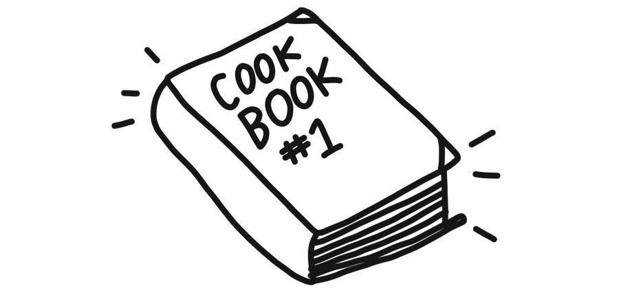 cook book illustration