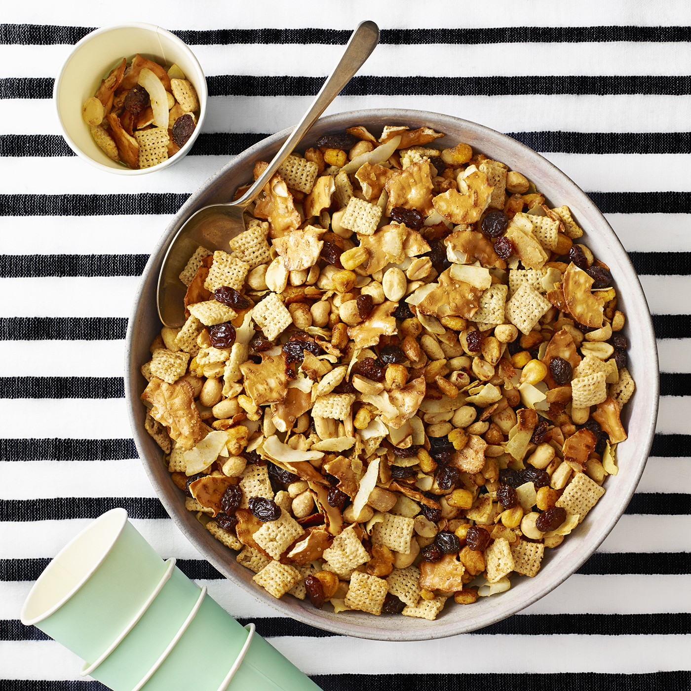 curry snack mix