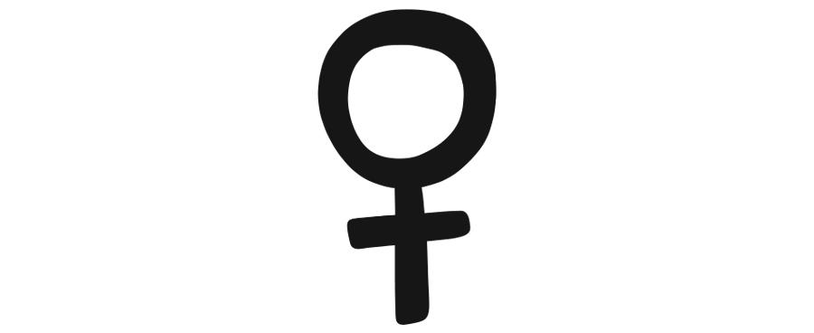 female symbol illustration