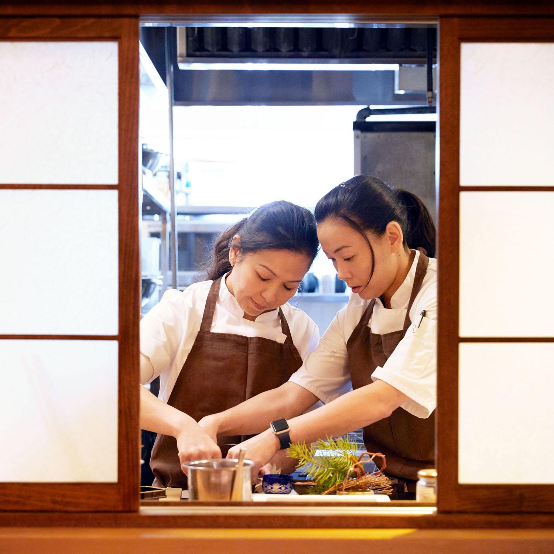 Niki Nakayama and Carole Iida-Nakayama