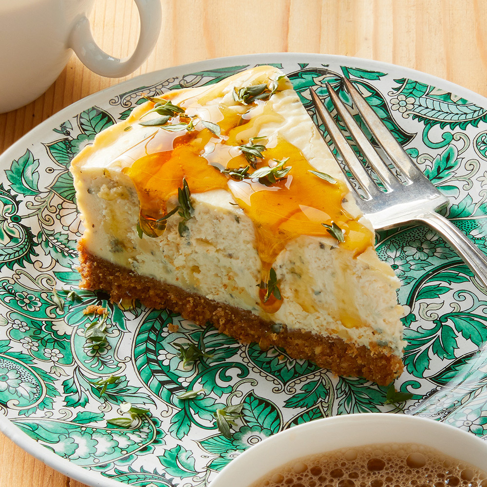 Cashel Blue Cheesecake with Honey