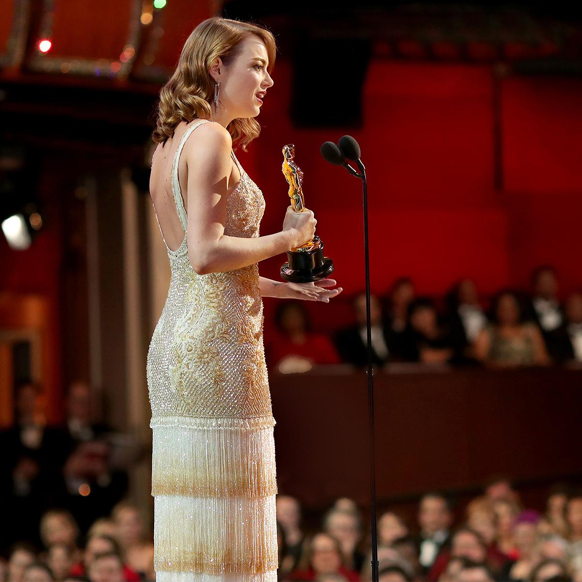 emma stone oscar acceptance speech