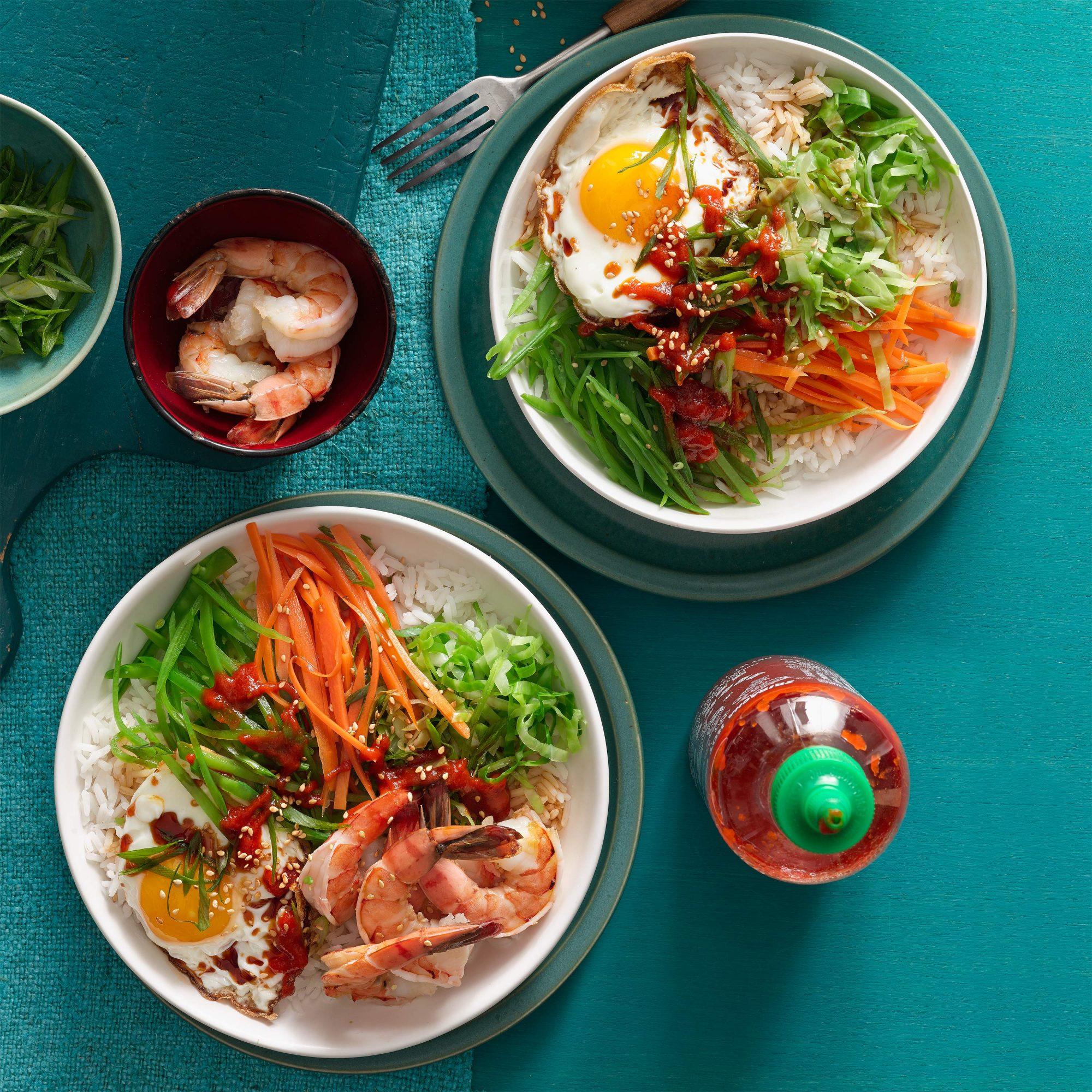 Korean-Style Rice Bowl
