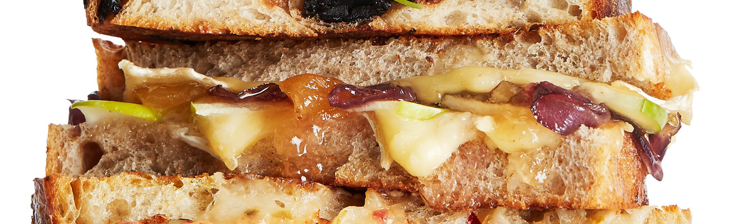 brie chutney grill cheese
