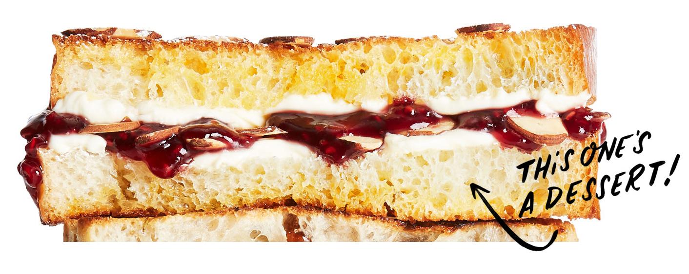 raspberry danish dessert grill cheese