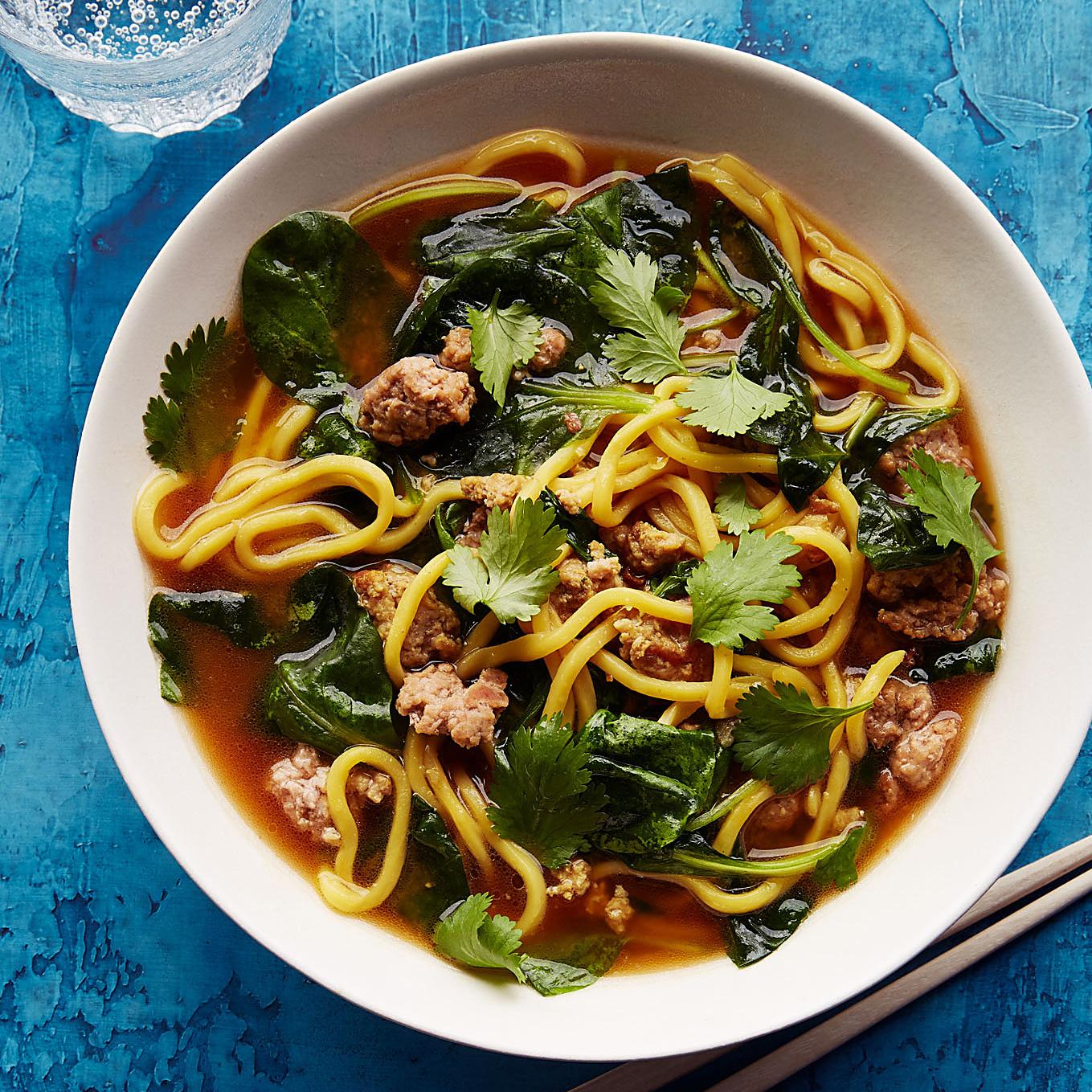 Spicy Pork Miso Soup