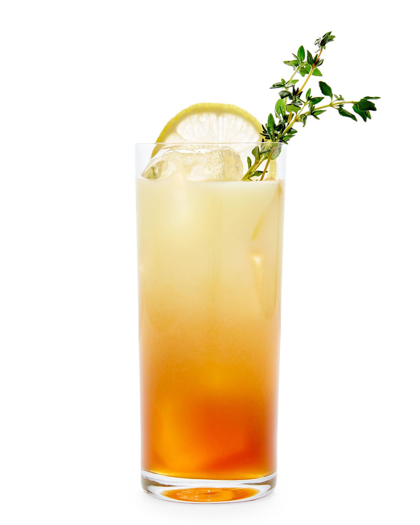 Boozy Lemon Tea