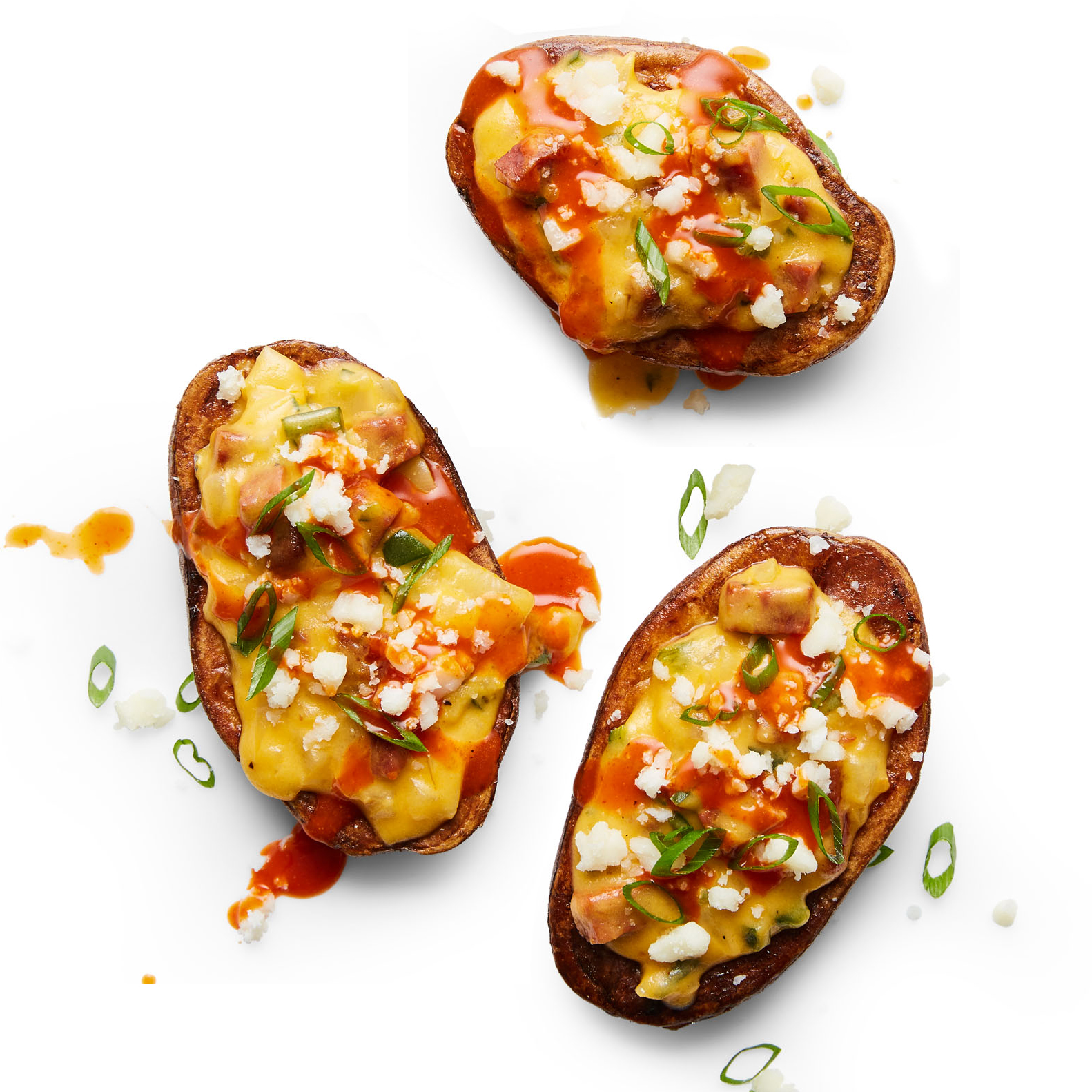 Spicy Queso Tater Skins