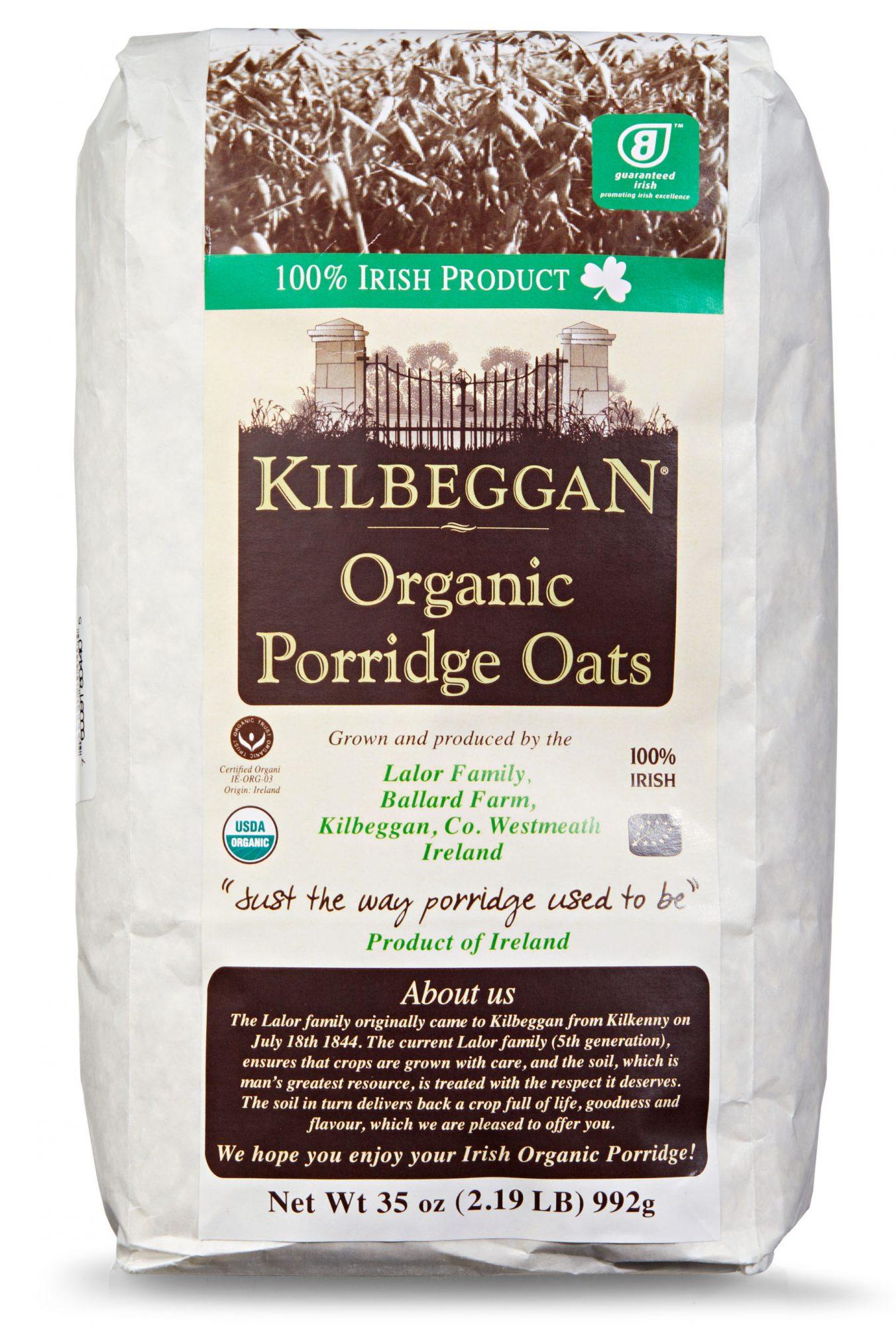 Kilbeggan Organic Porridge Oats
