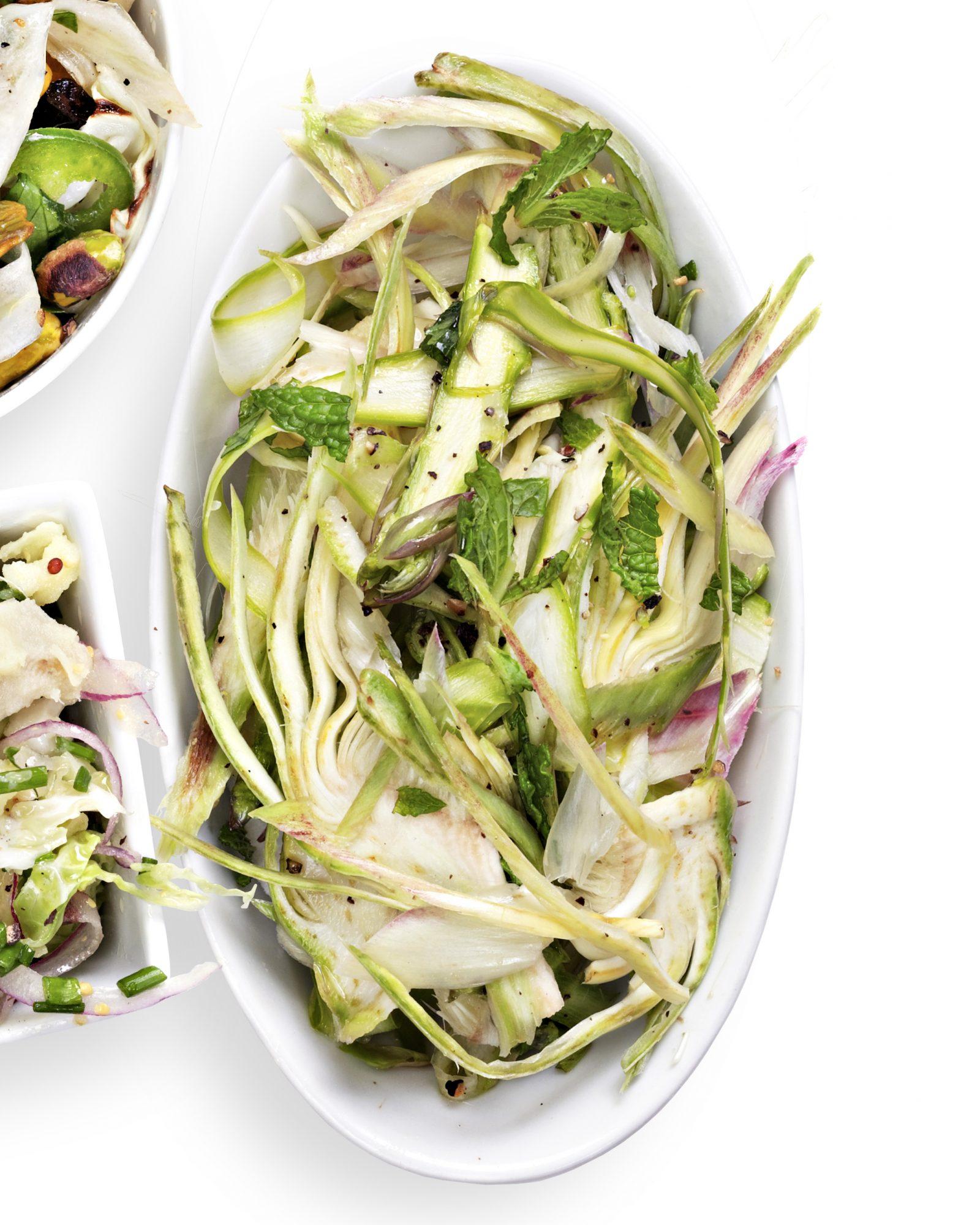 spring greens coleslaw