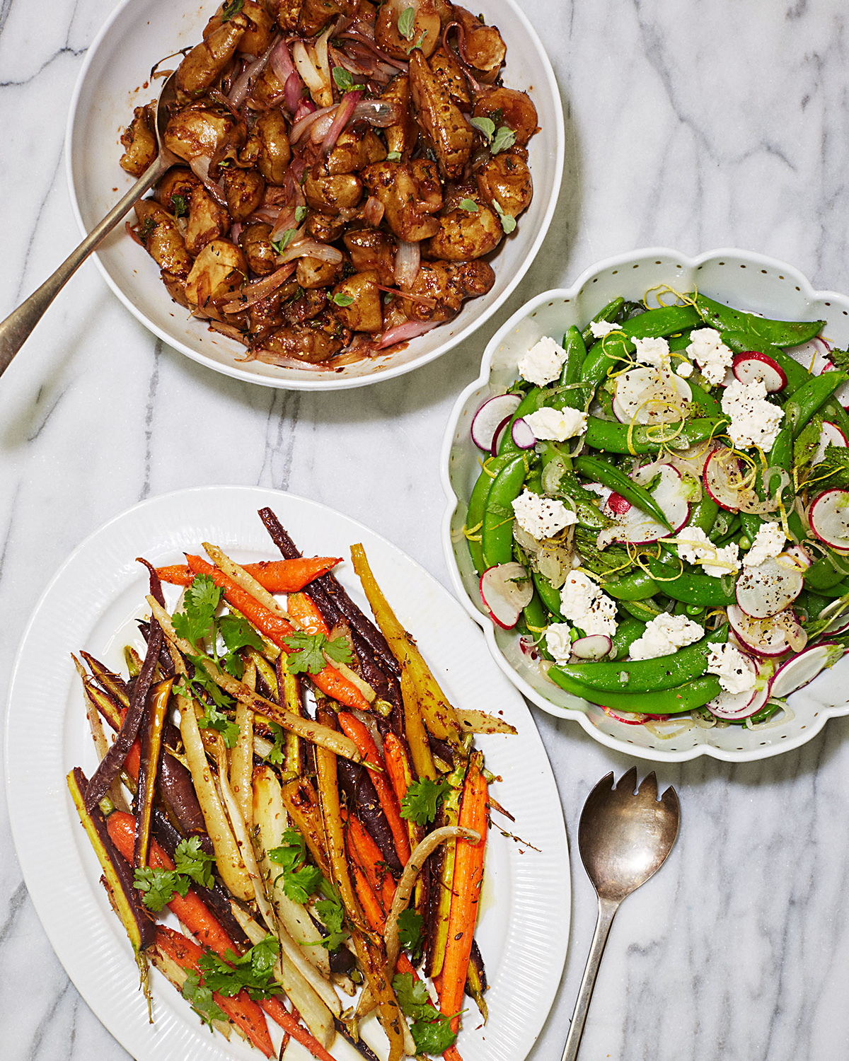 Geoffrey Zakarian's Easter vegetable side dishes