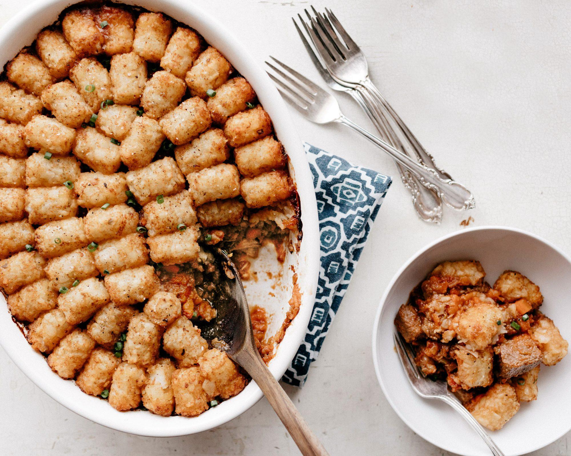passover brisket hotdish