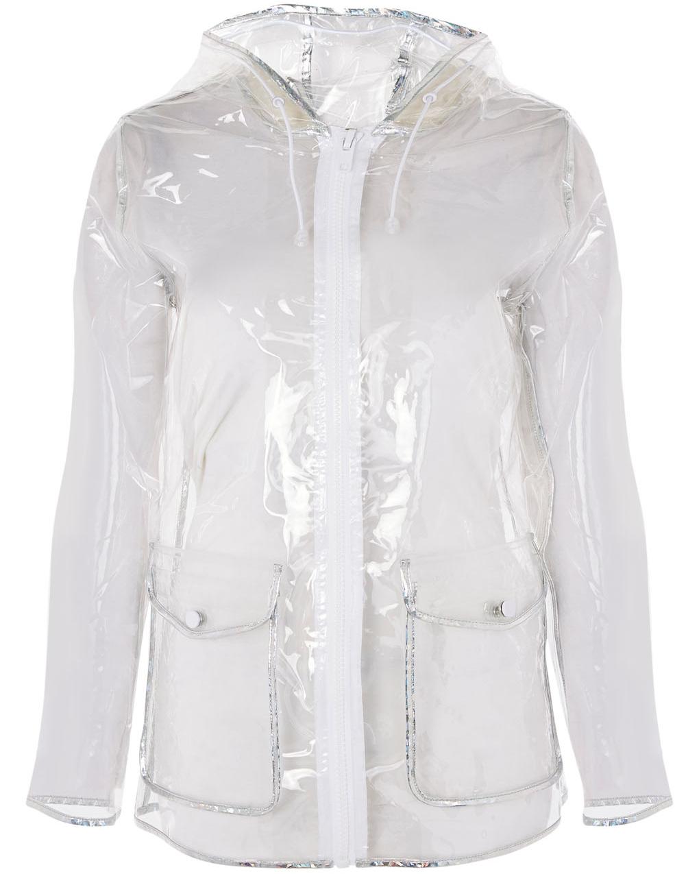 Topshop's Transparent Raincoat