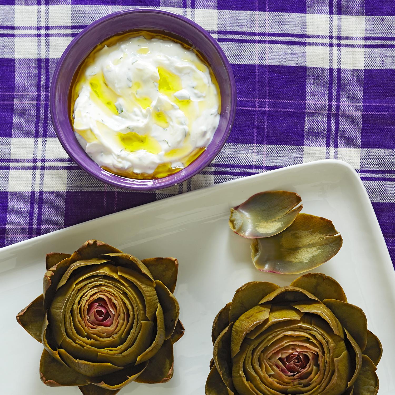 Artichoke Mint Dip