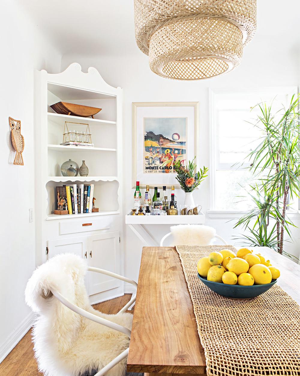 macrame trend dining room