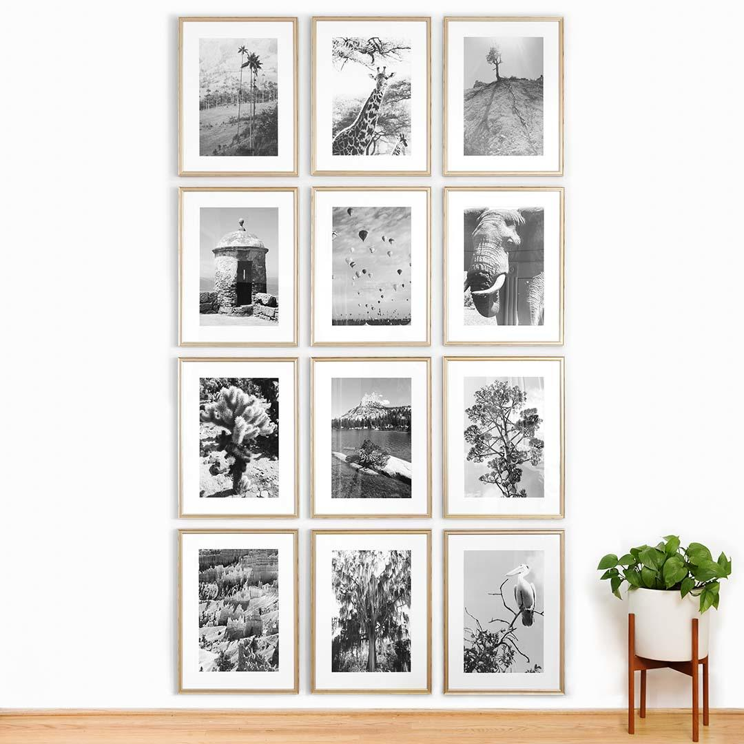 Framebridge_Floor_to_Ceiling_Gallery_Wall_Silver_Lifestyle