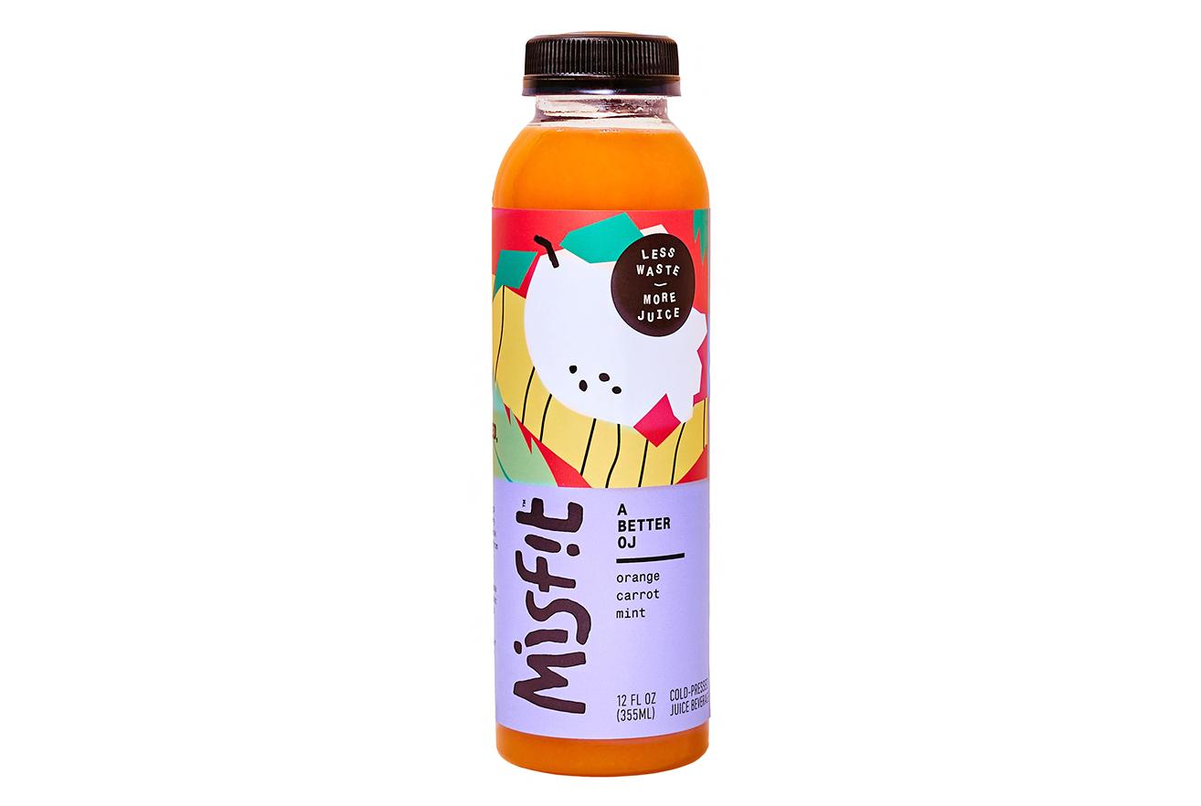 misfit cold-pressed orange juice