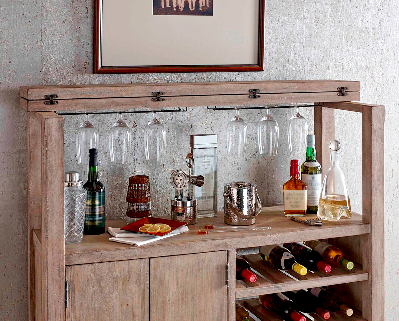 rachael ray home monteverdi bar cabinet and sideboard