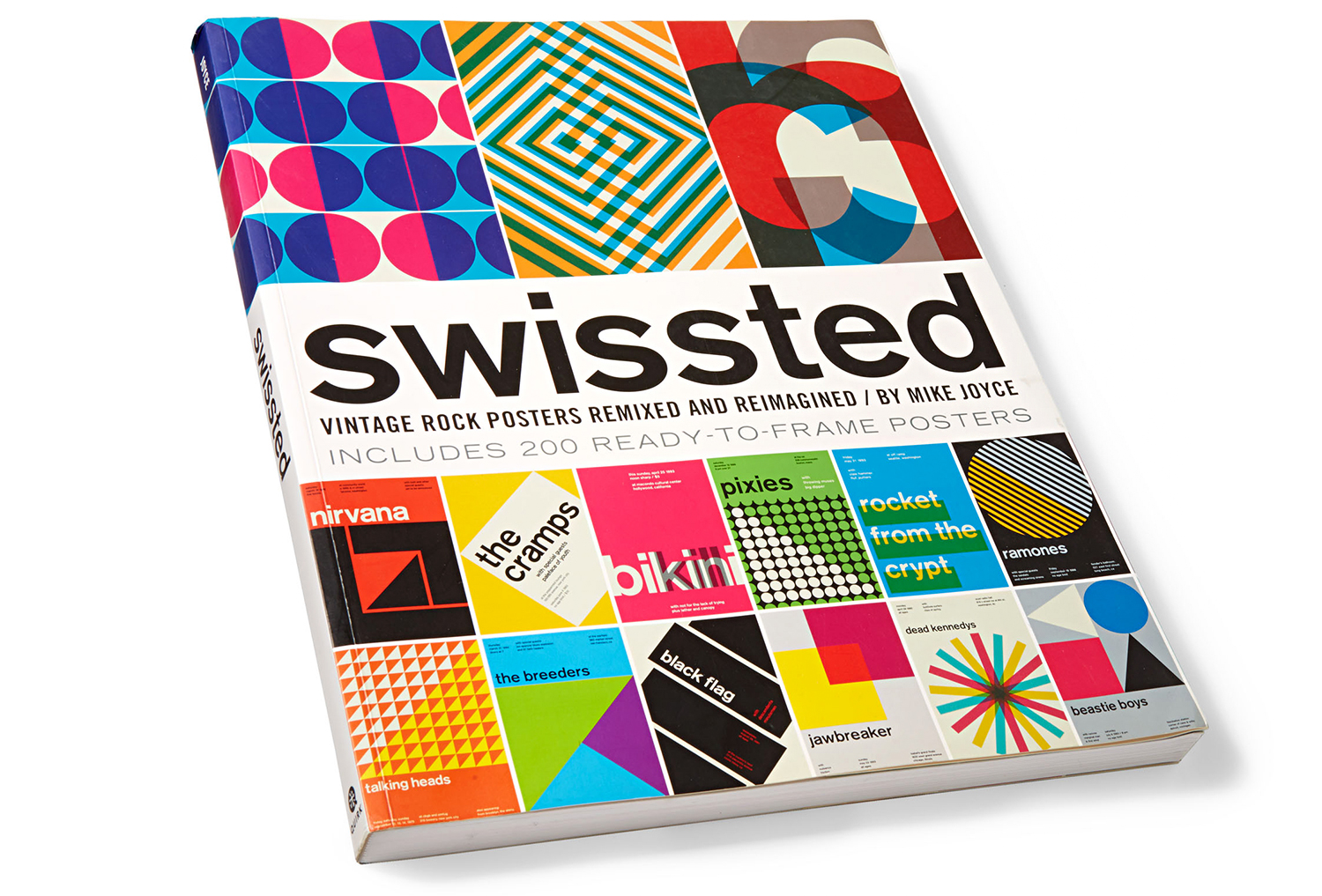 swissted ready-to-frame rock posters