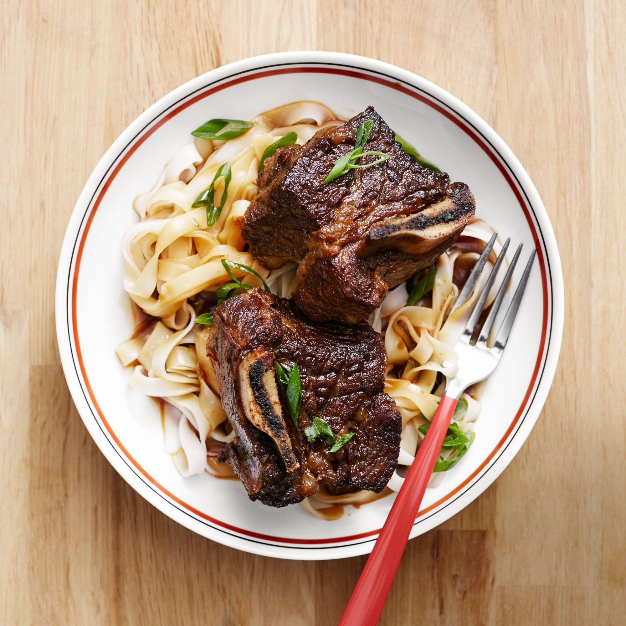 Short Ribs with Soy & Scallions