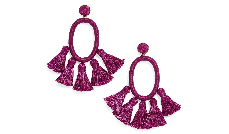 baublebar corsica tassel earrings