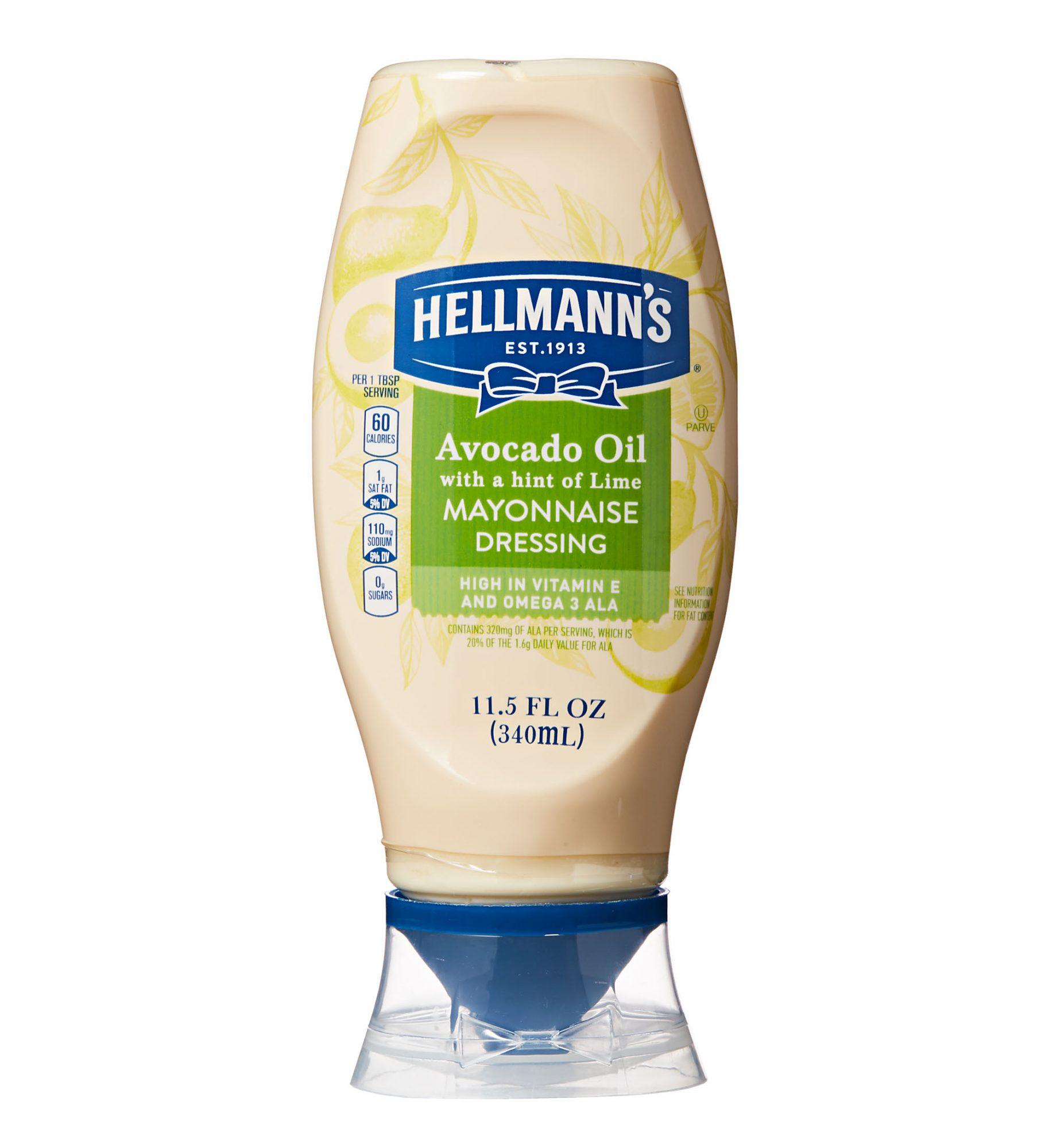 hellmann's avocado oil with hint of lime mayonnaise dressing
