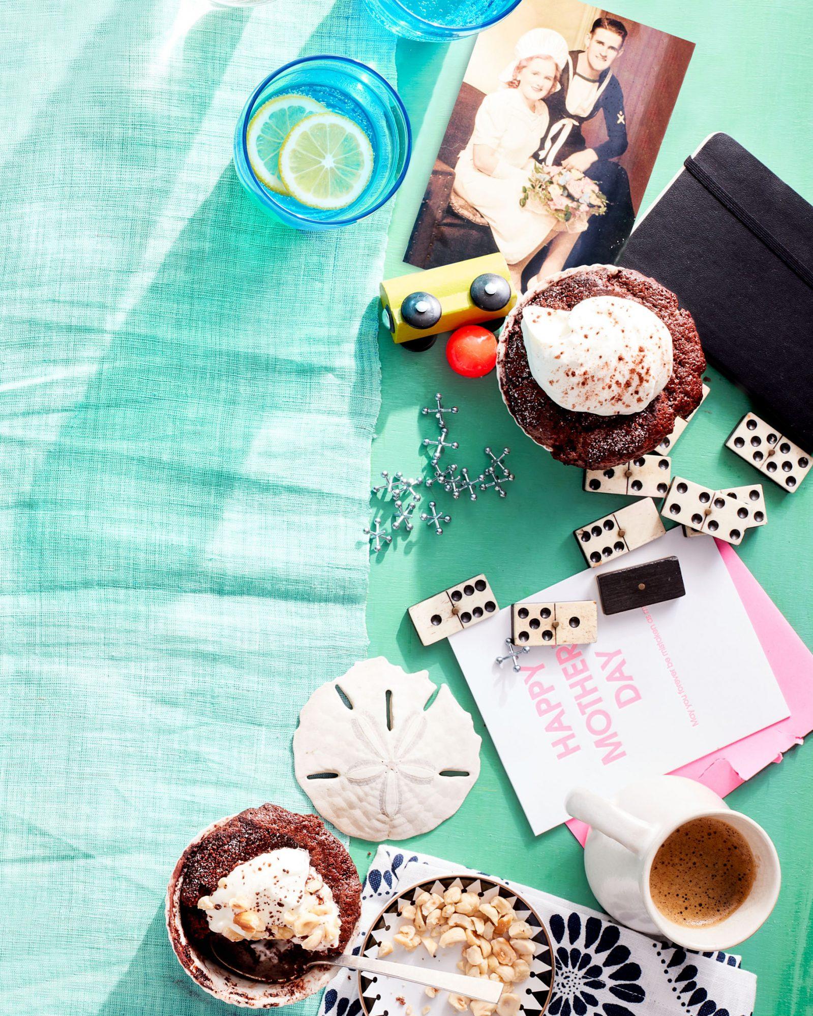Chocolate Hazelnut Pudding Cakes