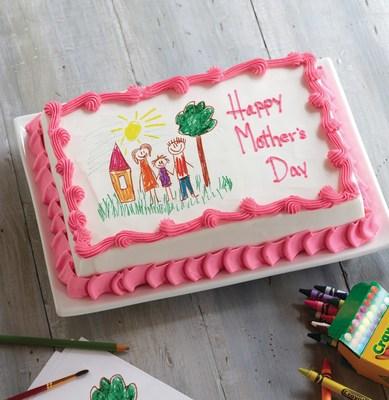 Carvel card cake
