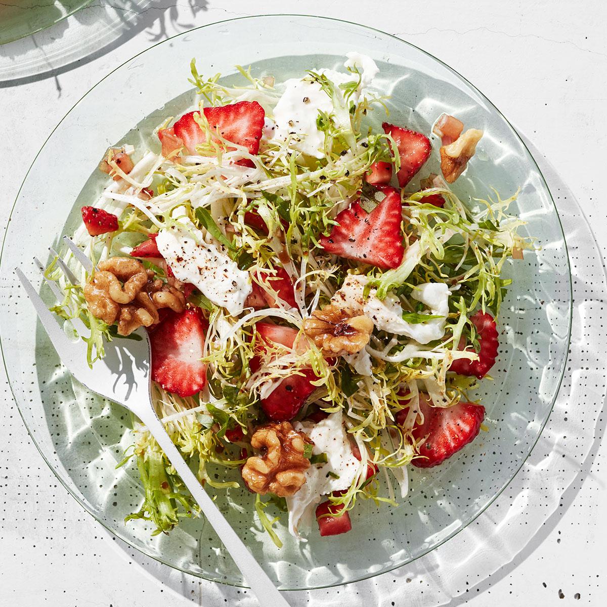 Strawberry & Burrata Salad