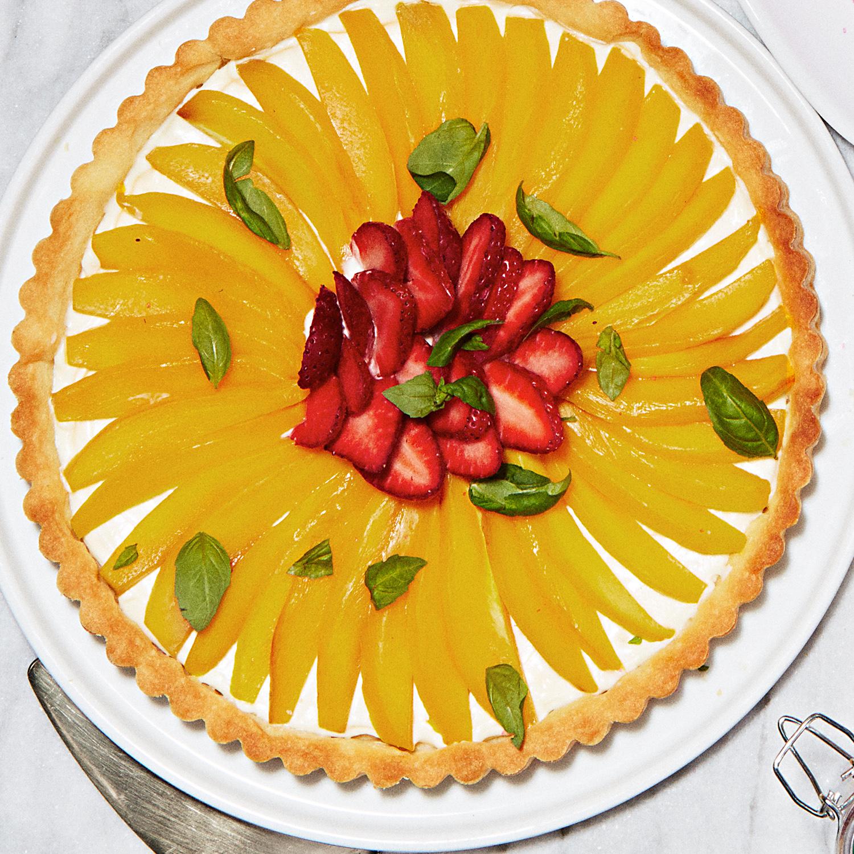 Strawberry-Mango Tart