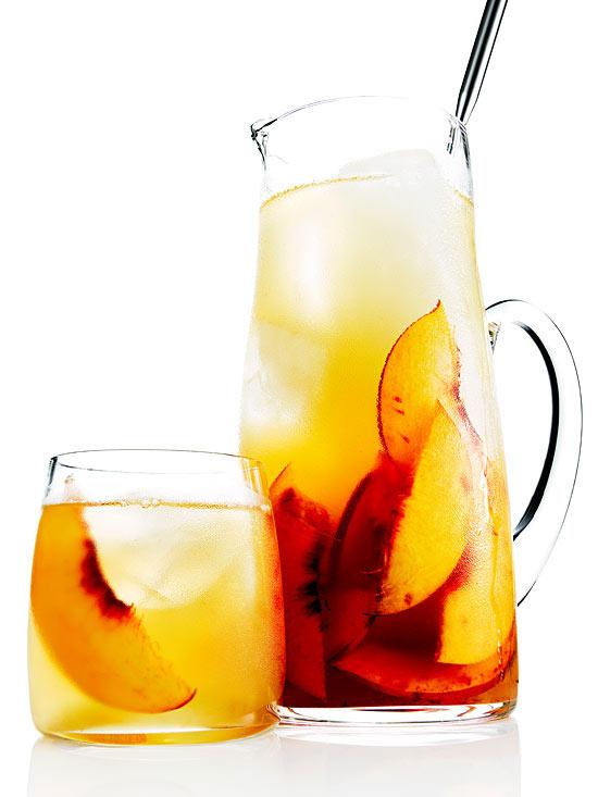 Bourbon and Peach Sweet Tea